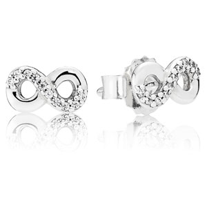 Infinite Love Stud Earrings