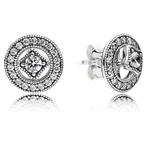 Vintage Allure Stud Earrings