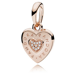Pandora Rose ™ Signature Heart Pendant