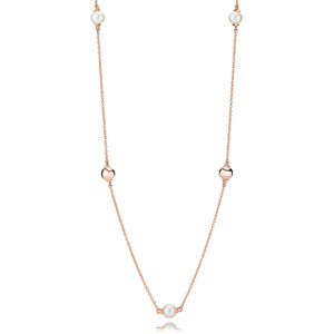 Pandora Rose ™ Contemporary Pearls Necklace