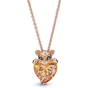 Pandora Rose ™ Sparkling Lion Princess Necklace