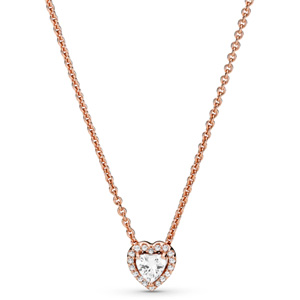Pandora Rose ™ Sparkling Heart Necklace