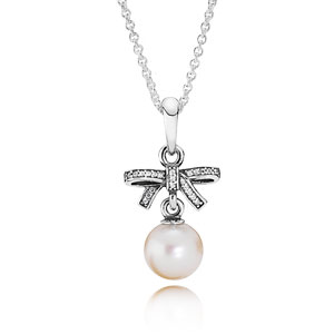 Delicate Sentiments Pearl Necklace
