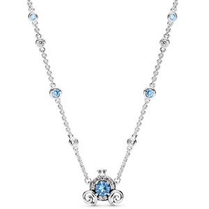 Disney Cinderella Pumpkin Coach Necklace