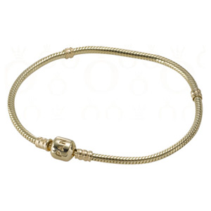 14K Gold Bracelet with Snap Clasp