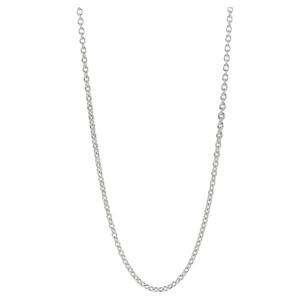 Pandora Plain Silver Chain Necklace Stories 590200