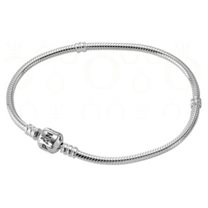 Sterling Bracelet with Pandora Clasp