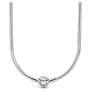 Snake Chain Necklace with Pandora Clasp