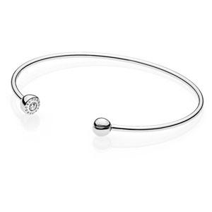 773b0044f Pandora ESSENCE Open Bangle :: ESSENCE Bracelets 597229CZ :: Authorized  Online Retailer
