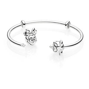 Disney Mickey and Minnie Open Bangle
