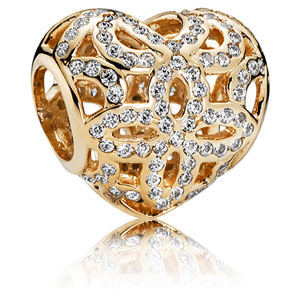 14K Gold Love and Appreciation Charm