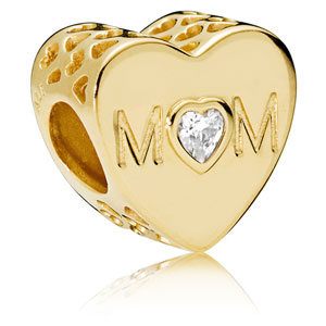 Pandora Shine Mother Heart Charm