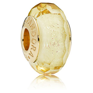 Pandora Shine ™ Golden Faceted Murano Glass Charm