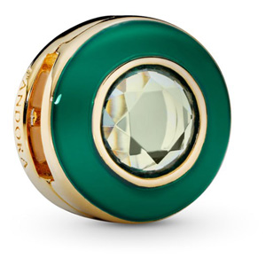 Reflexions ™ Pandora Shine ™ Radiant Green Circle