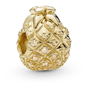 Pandora Shine ™ Golden Pineapple Charm