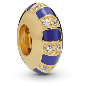 Pandora Shine ™ Exotic Stones and Stripes Spacer