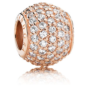 Pandora Rose™ Pave Lights Charm with Clear Zirconia