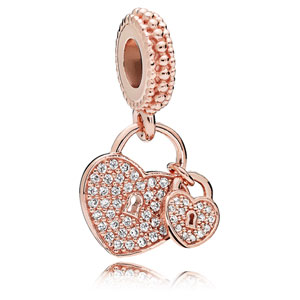 Pandora Rose ™ Love Locks Dangle