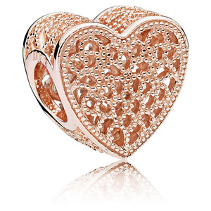 Pandora Rose ™ Filled with Romance Charm