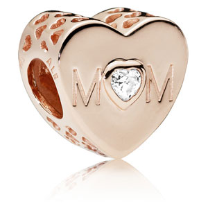 Pandora Rose Mother Heart Charm