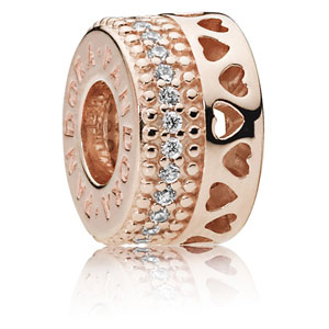 Pandora Rose ™ Hearts of Pandora Spacer