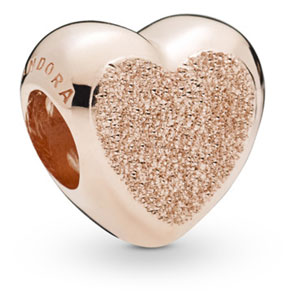 Pandora Rose ™ Matte Brilliance Heart charm