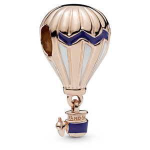 Pandora Rose ™ Blue Hot Air Balloon Dangle