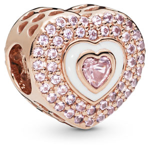 Pandora Rose ™ Hearts on Hearts Charm