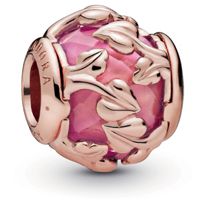Pandora Rose ™ Decorative Leaves Charm