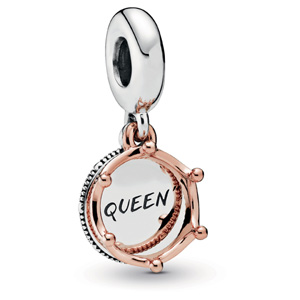 Pandora Rose ™ Queen and Regal Crown Dangle