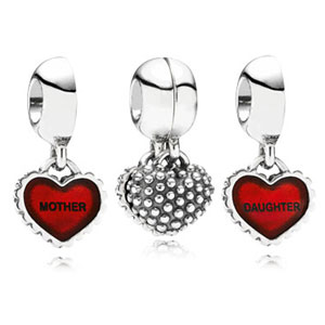 Piece of My Heart Mother / Daughter Charm