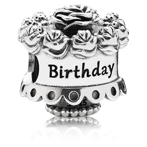Happy Birthday Cake Charm