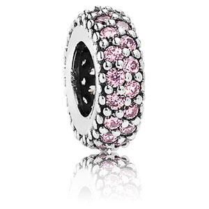 Inspiration Within Spacer with Pink Zirconia