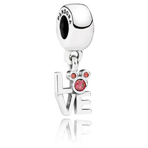 Disney Mickey LOVE Dangle