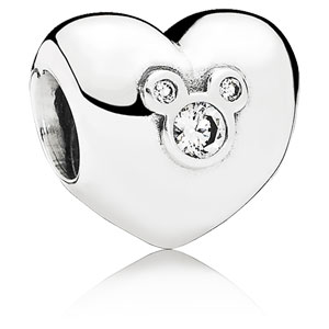 Disney Heart of Mickey Charm