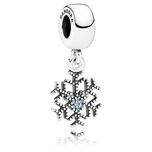 Disney Mickey's Sparkling Snowflake Dangle