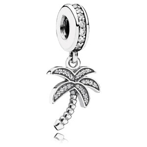Sparkling Palm Tree Dangle