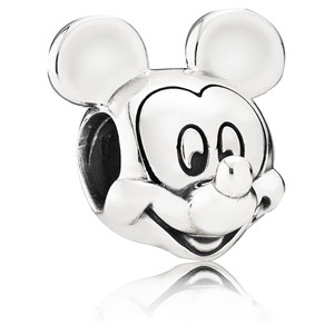 Disney Mickey Mouse Portrait Charm