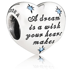 Disney Cinderella's Dream Heart Charm