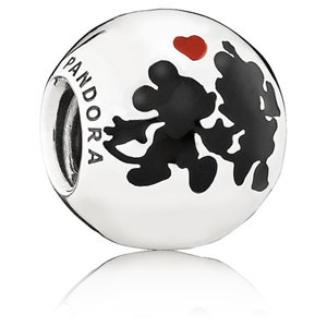 Disney Minnie and Mickey Forever Charm