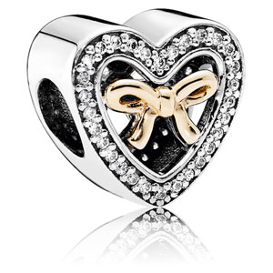 retired pandora limited edition bound by love charm 14k. Black Bedroom Furniture Sets. Home Design Ideas