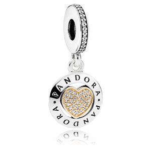Pandora Signature Heart Dangle