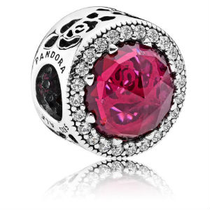 Disney Belle Radiant Rose Charm