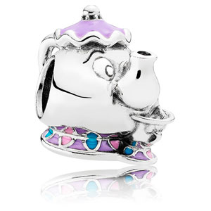 Disney Mrs. Potts with Chip Charm