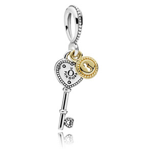 Key to my Heart Dangle