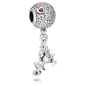 Disney Floating Minnie Charm