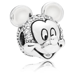Disney Mickey Clip with Zirconia