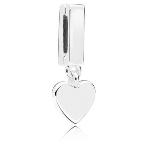 Reflexions ™ Silver Floating Heart