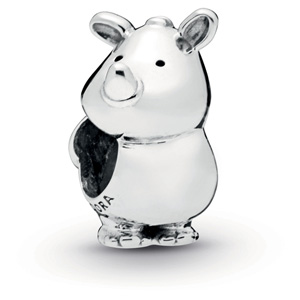 Rino the Rhinoceros Charm