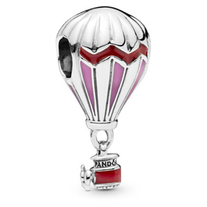 Red Hot Air Balloon Dangle